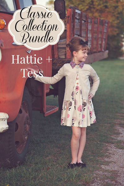 Classic Back to School: Hattie and Tess Bundle