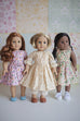 Matilda Doll Dress - Violette Field Threads  - 2