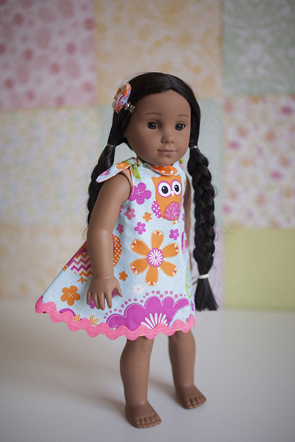 Hope Doll Dress & Tunic - Violette Field Threads  - 1
