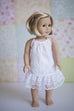 Rosemary Doll Pinafore & Slip - Violette Field Threads  - 7