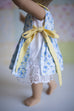 Rosemary Doll Pinafore & Slip - Violette Field Threads  - 5