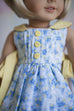 Rosemary Doll Pinafore & Slip - Violette Field Threads  - 2