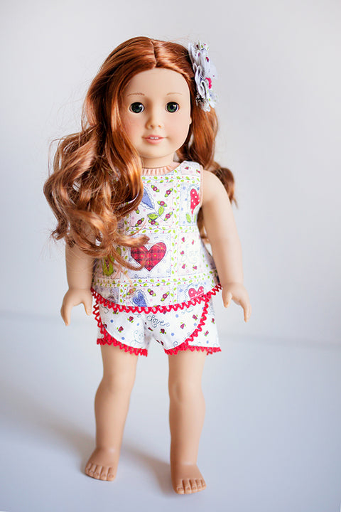 Camille Doll Top