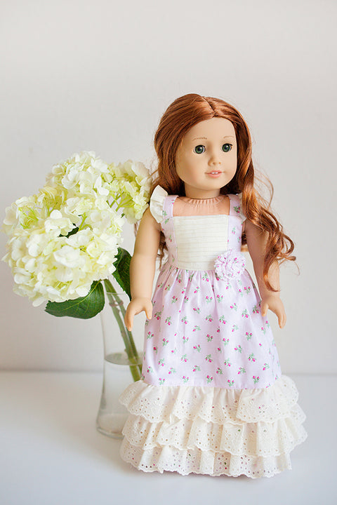 Cosette Doll Dress - Violette Field Threads  - 1