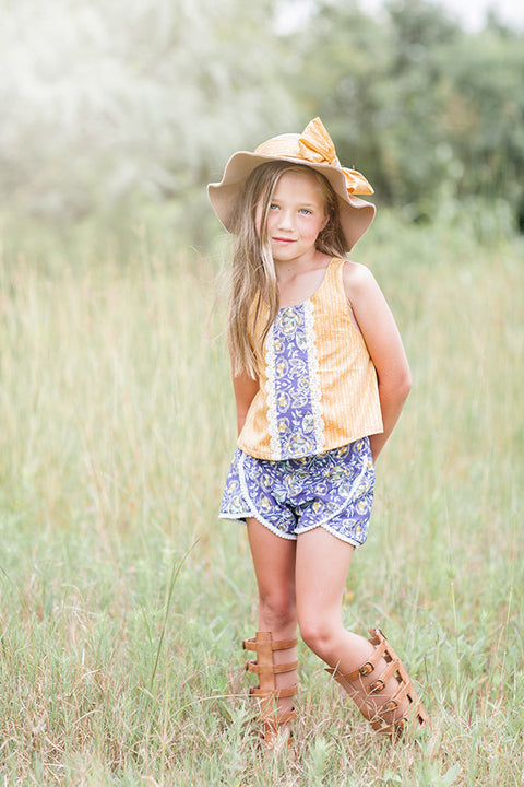 Lilly Shorts - Violette Field Threads  - 1