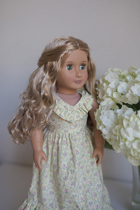 Emmaline Doll Dress - Violette Field Threads  - 1