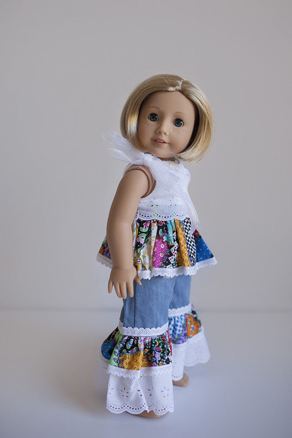 Lucy Doll Pants Violette Field Threads