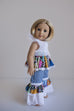 Grace Doll Dress - Violette Field Threads  - 4