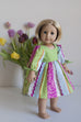 Maisie Doll Dress & Top - Violette Field Threads  - 2