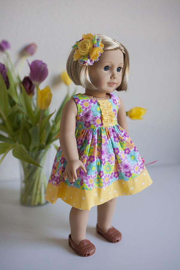 Lola Doll Top - Violette Field Threads  - 1