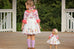 Autumn Doll Pinafore