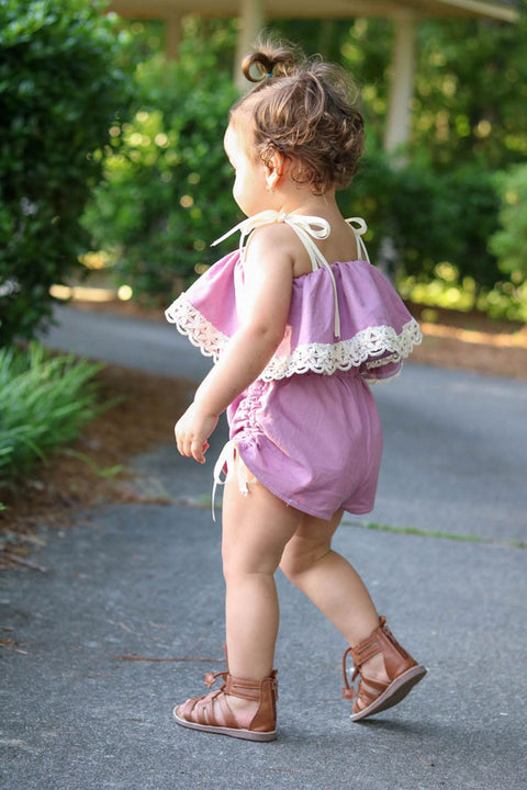 Priscilla Baby Dress and Romper