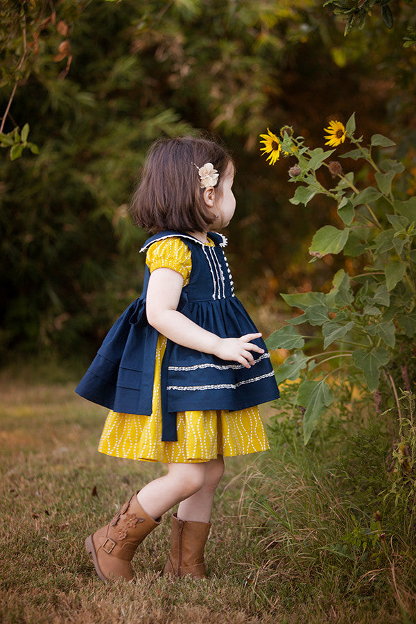 Rosemary Pinafore & Slip - Violette Field Threads  - 1