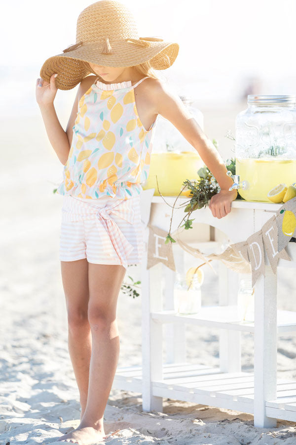 Celeste Tween Top and Shorts