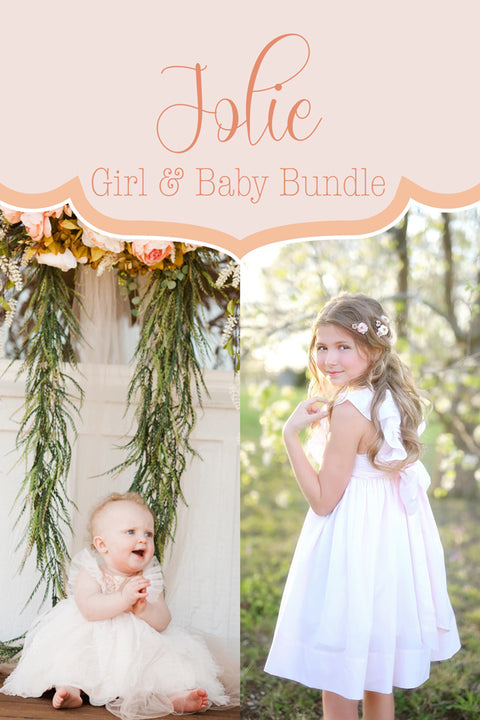 Jolie Baby + Girl Dress Bundle