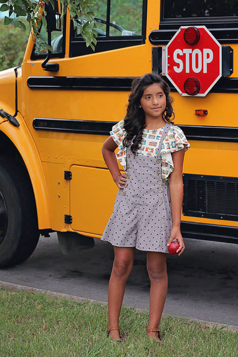 Julia Tween Shorts & Dress Jumper
