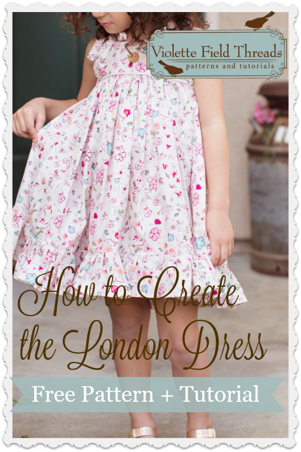 Free London Dress Violette Field Threads