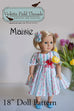"Master Collection of 18"" Doll Patterns - Violette Field Threads  - 28"