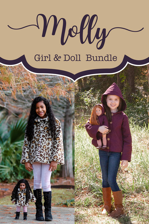 Molly Girls + Doll Coat Bundle