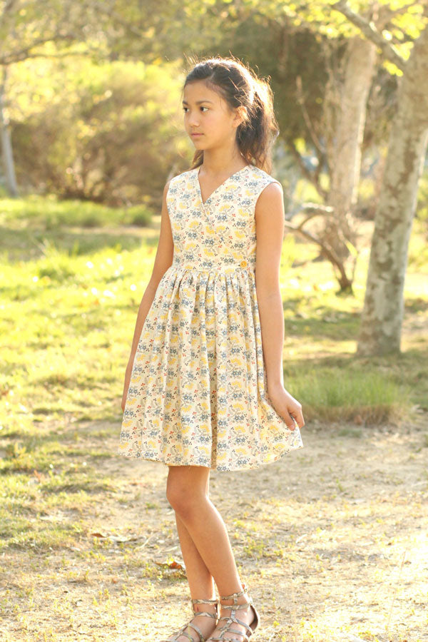 a9b69ebe15b8c Olive Tween Dress and Top – Violette Field Threads