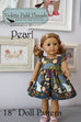 "Master Collection of 18"" Doll Patterns - Violette Field Threads  - 31"