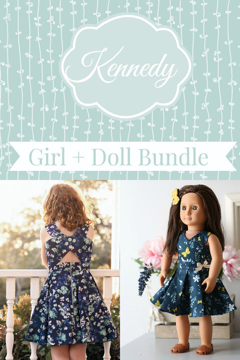 Kennedy Girl + Doll Bundle