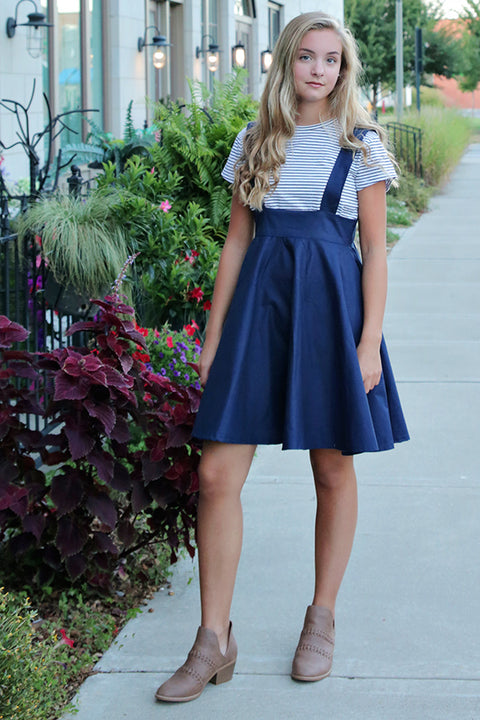 Lulu Tween Pinafore