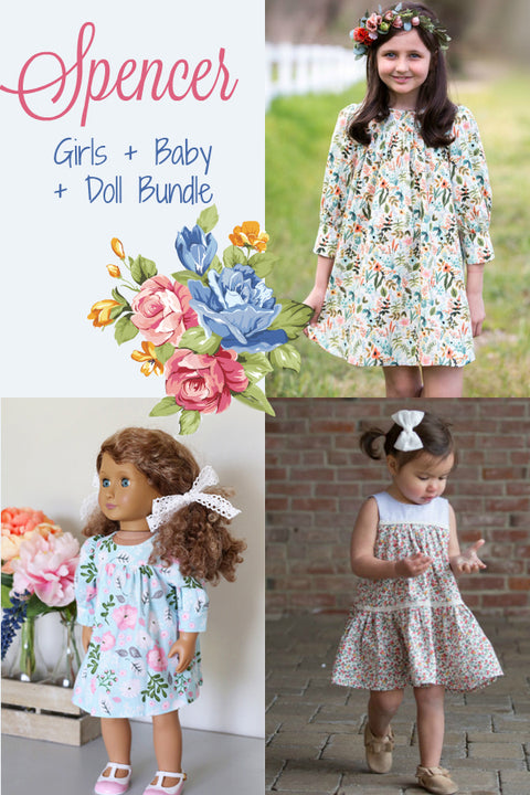 Spencer Girls + Baby + Doll Bundle