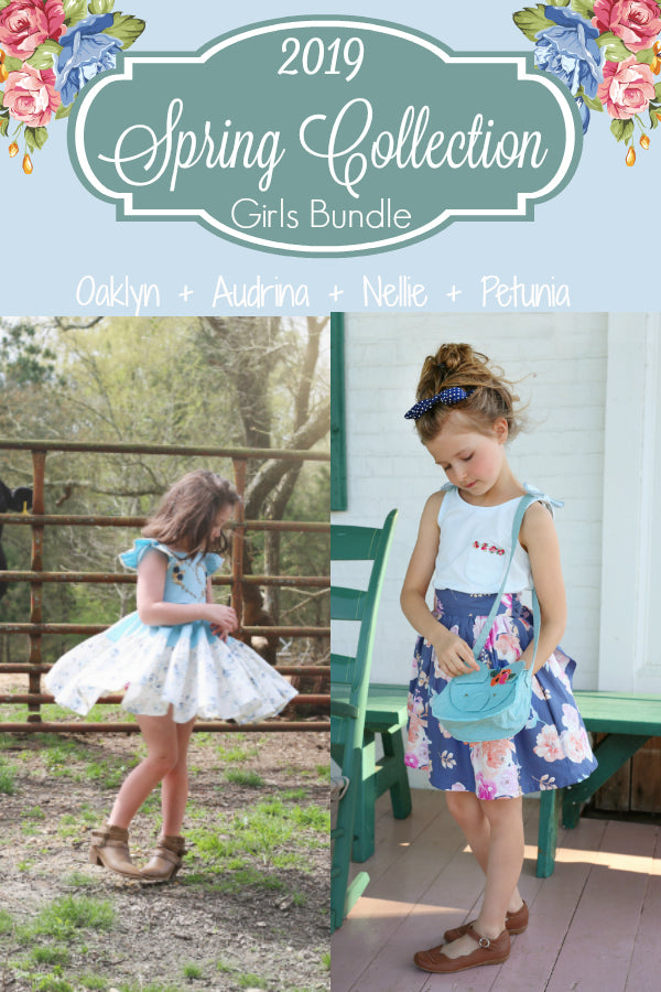 2019 Spring Collection Girls 4 Pattern Bundle