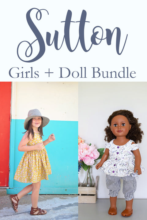 Sutton Girls & Doll Bundle