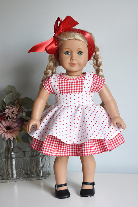 Lulu Doll Pinafore