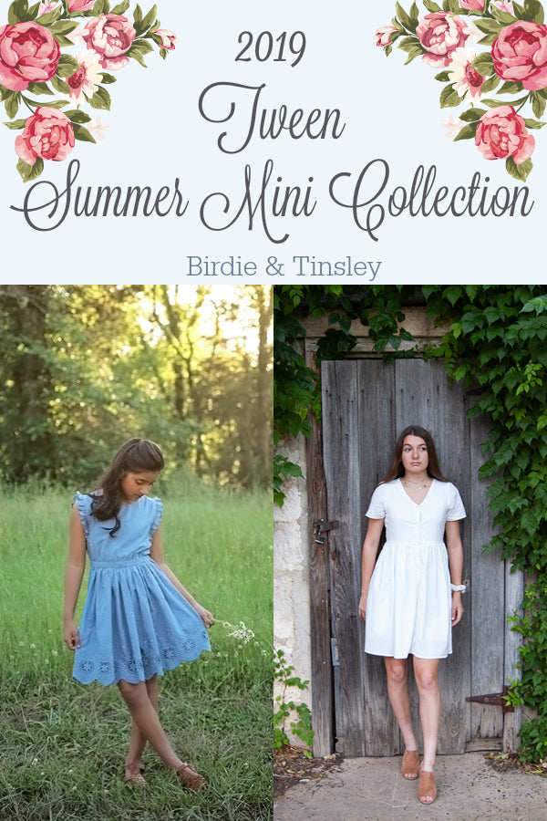 2019 Tween Summer Mini Collection Bundle: Birdie & Tinsley