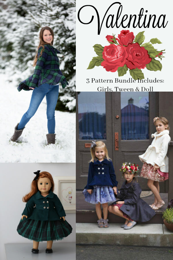 Valentina Coat 3 Pattern Bundle