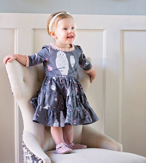 Georgia Baby Dress - Violette Field Threads  - 1
