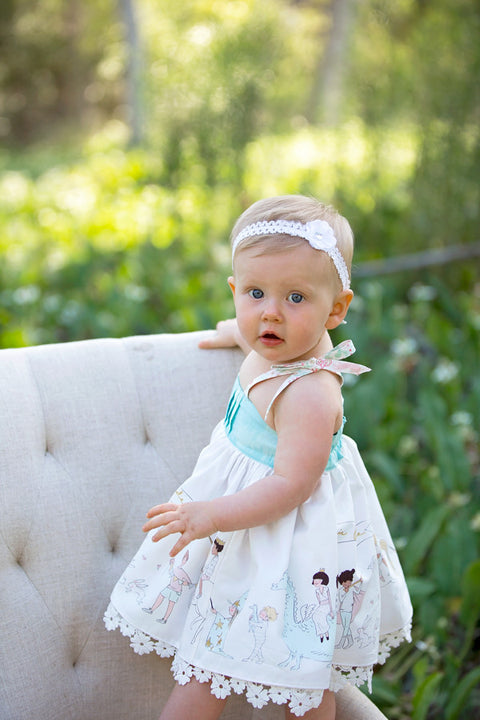 Lauren Baby Dress - Violette Field Threads  - 1
