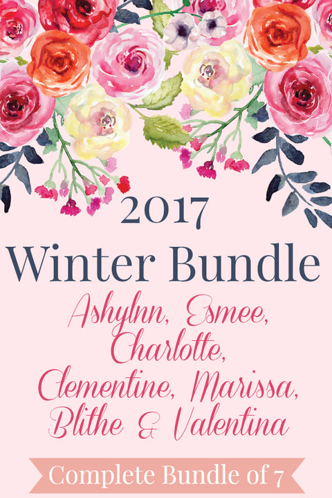 2017 Winter Release Full Collection - 7 Pattern Bundle
