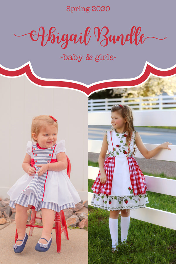 Abigail Baby + Girls Dress Bundle