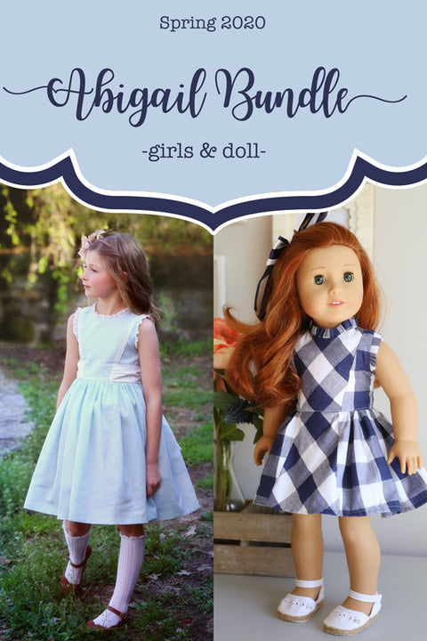 Abigail Girls + Doll Dress Bundle