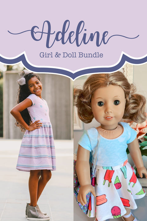 Adeline Girl + Doll Top & Dress Bundle
