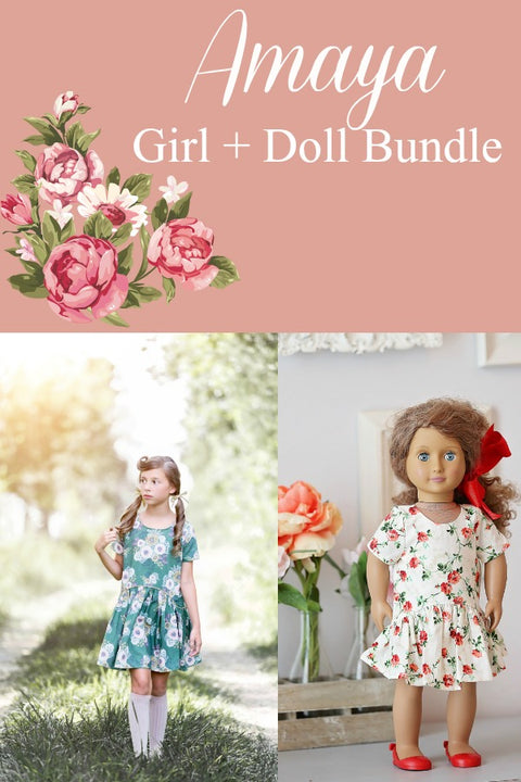 Amaya Girls & Doll Bundle