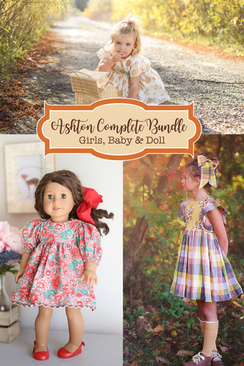 Ashton Girls, Baby & Doll Bundle