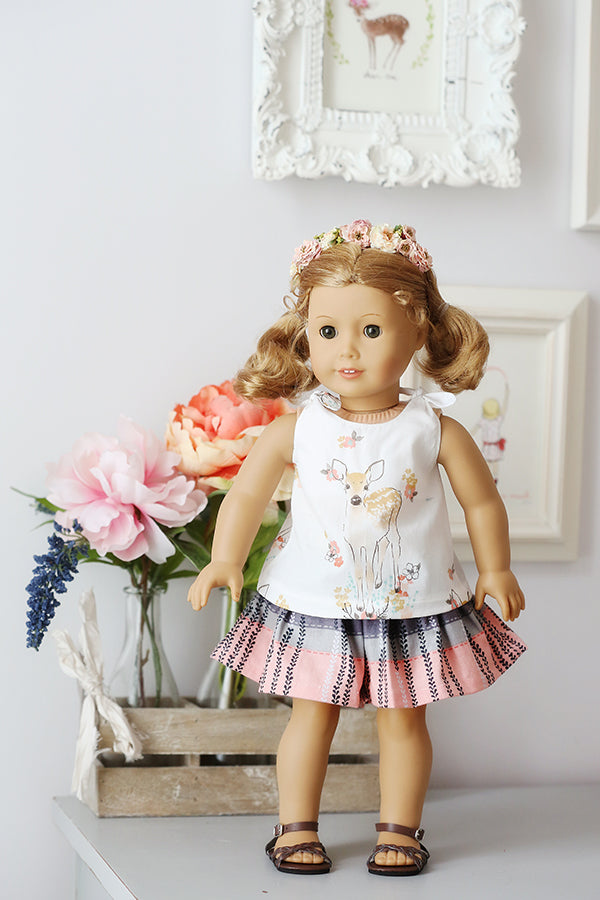 Berklee Doll Top & Shorts