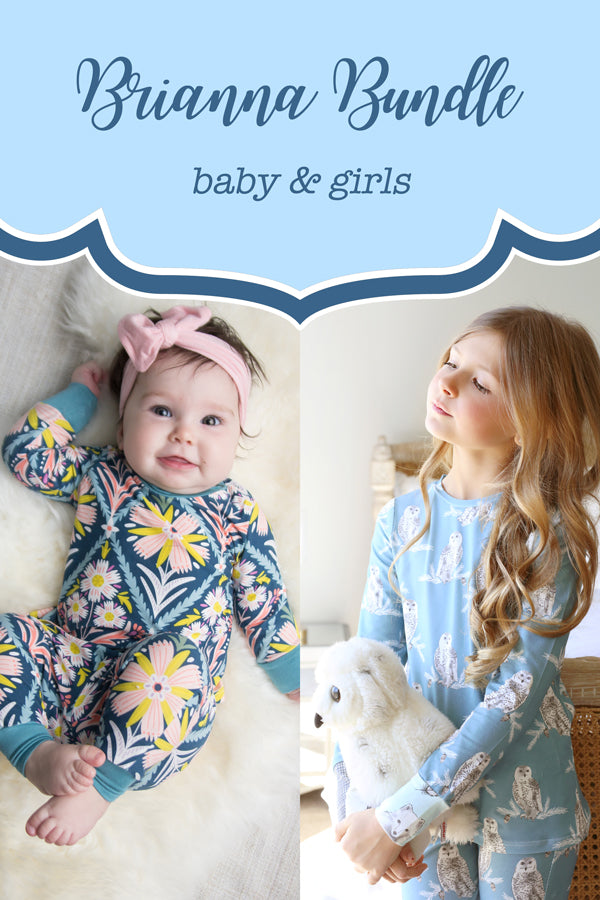 Brianna Baby + Girl Pajama Bundle