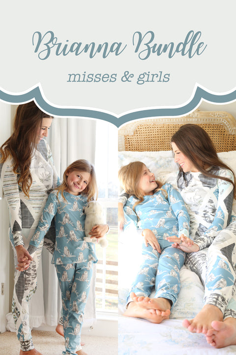 Brianna Girls + Misses Pajama Bundle