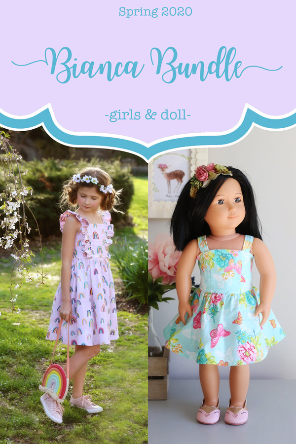 Bianca Girls + Doll Dress Bundle