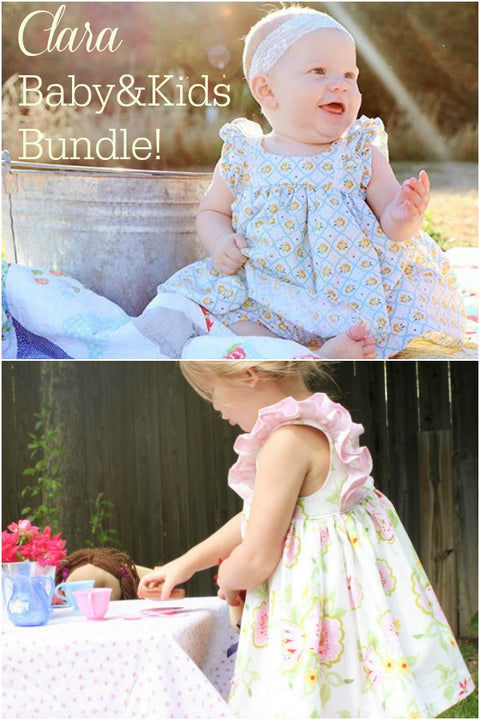 Clara Baby & Kids Bundle - Violette Field Threads  - 1