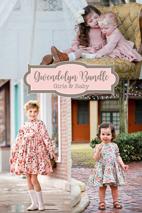 Gwendolyn Baby + Girls Dress Bundle