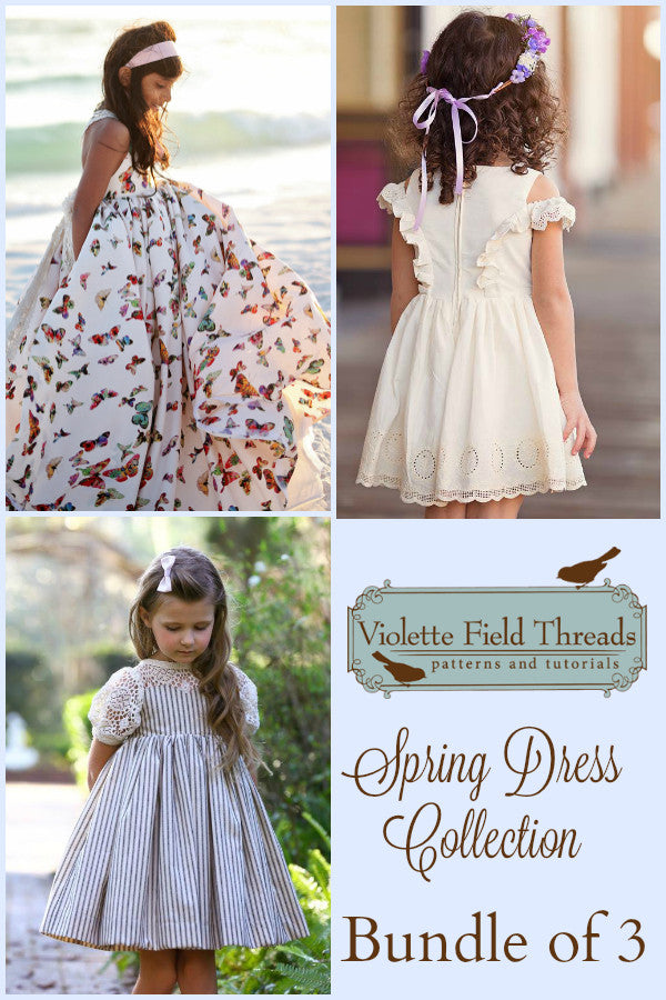 2017 VFT Spring Dress Collection - Bundle of 3