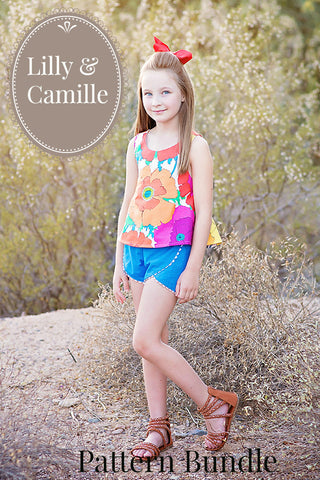 Lilly & Camille Bundle - Violette Field Threads  - 1