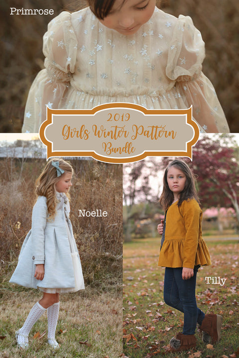 Girls Winter Pattern - 3 Pack Bundle